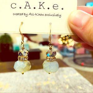NWT cAKe by Ali Khan Drop Earrings